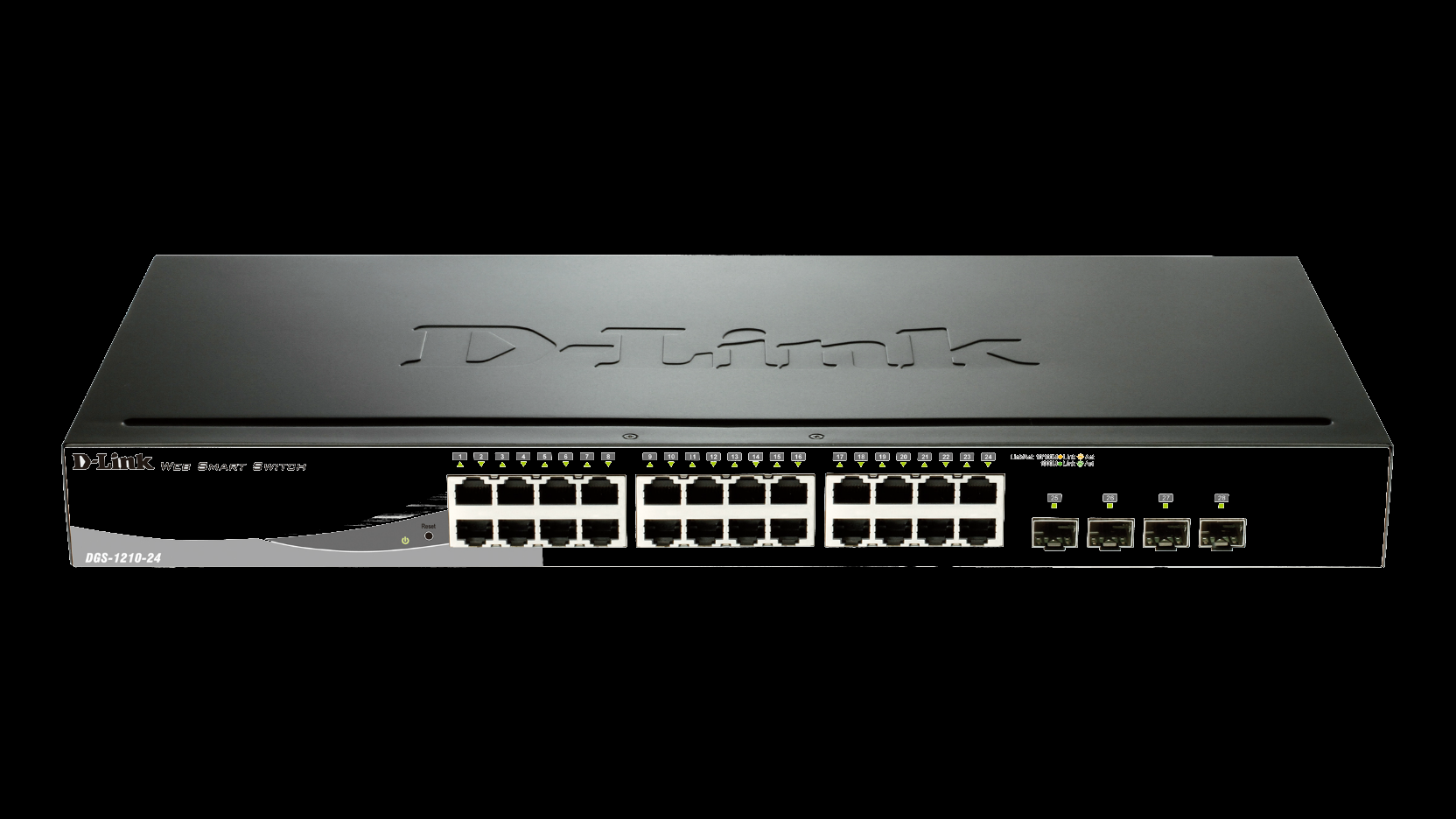 HÁLÓZATI SWITCH DLINK DGS-1210-24 24PORT